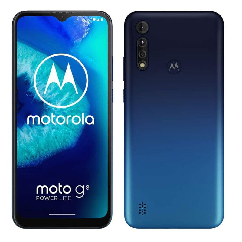 Moto G8 Power Lite Blue