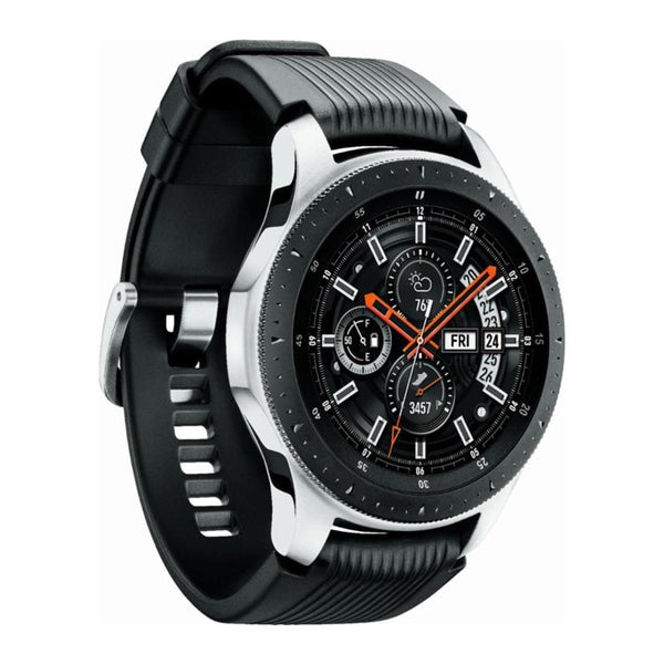 GALAXY WATCH 2018 (46MM) SILVER/BLACK - (Model #SM-R800NZSATPA)