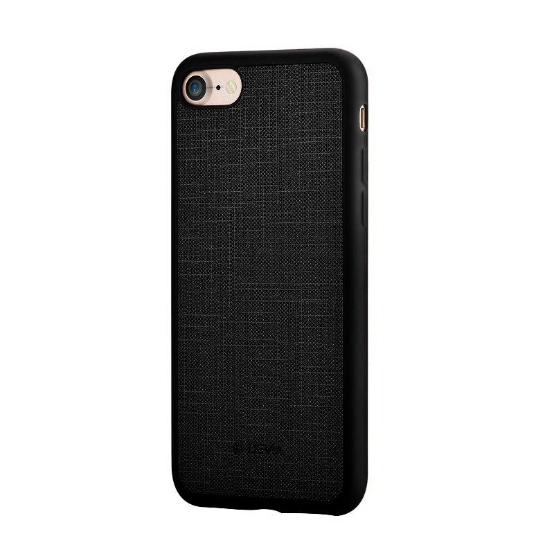 Jelly slim case (England) for iPhone 7Plus black