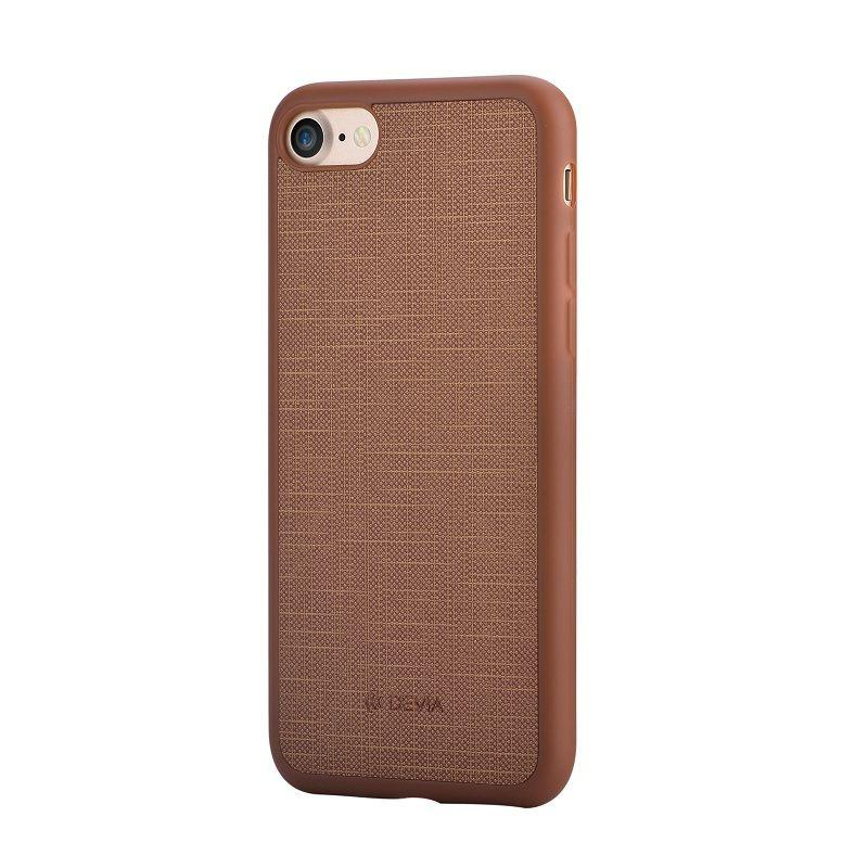 Jelly slim case (England) for iPhone 7Plus Brown