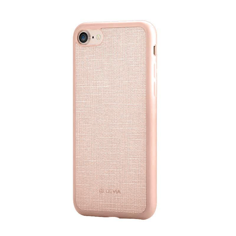 Jelly slim case (England) for iPhone 7Plus Rose Gold