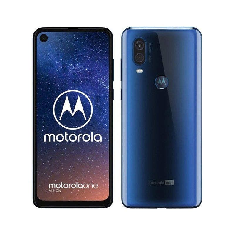Moto One Vision Blue