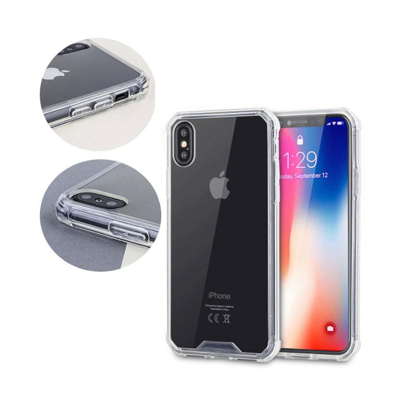 Crystal Clear Hard Shell for Iphone X Max