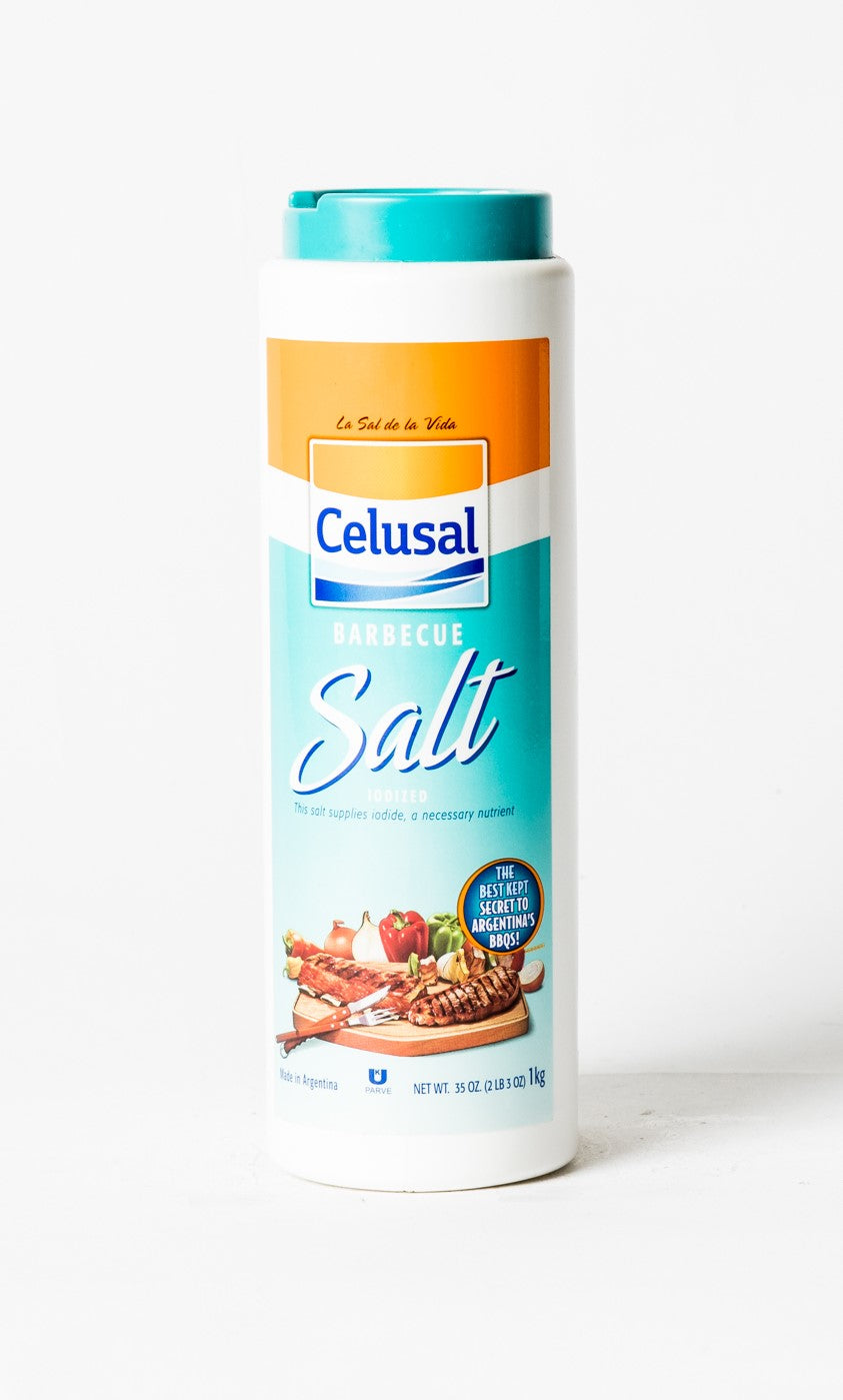 Celusal Iodized Barbeque Salt