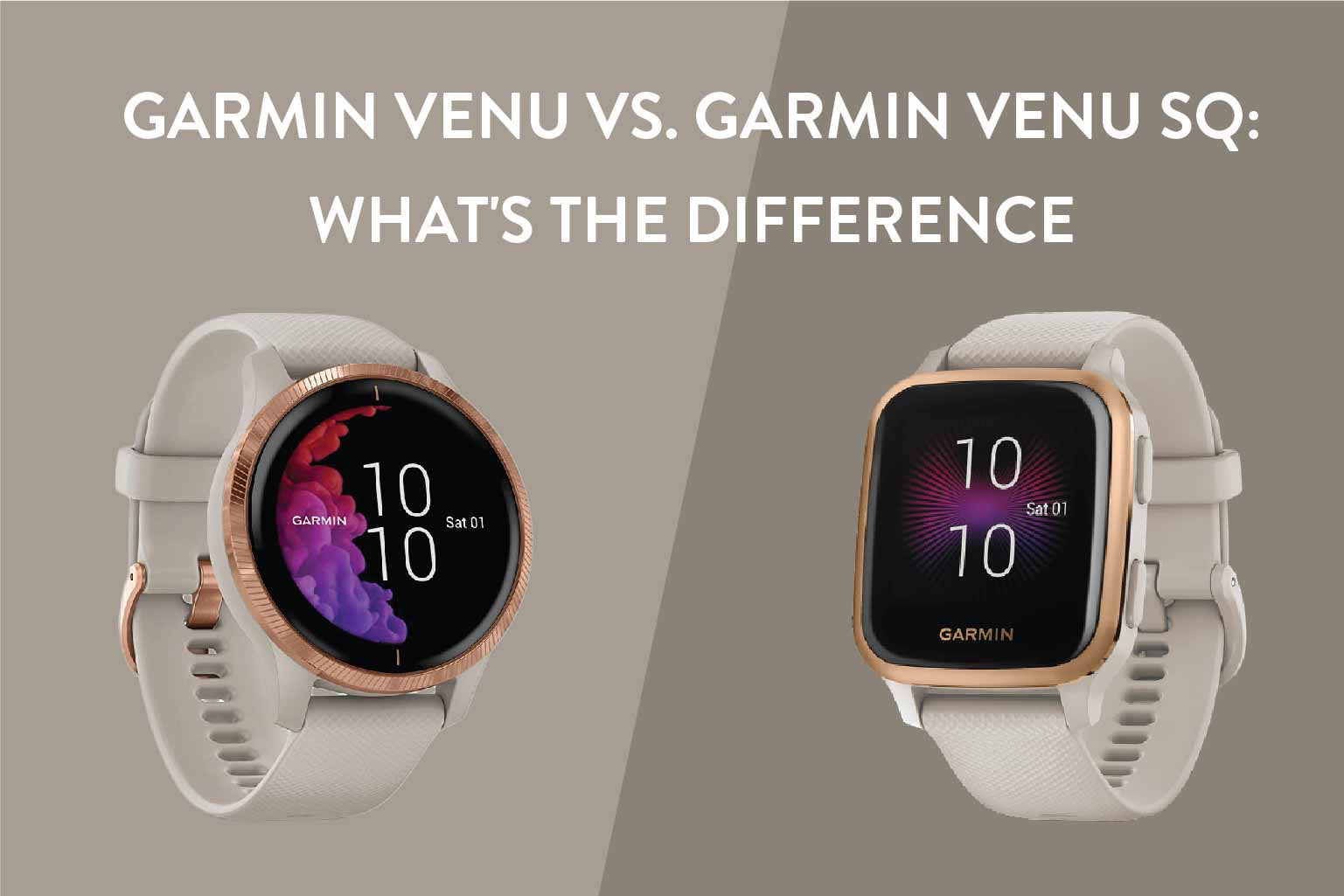 Garmin Venu vs. Garmin Venu Sq: What's The Difference