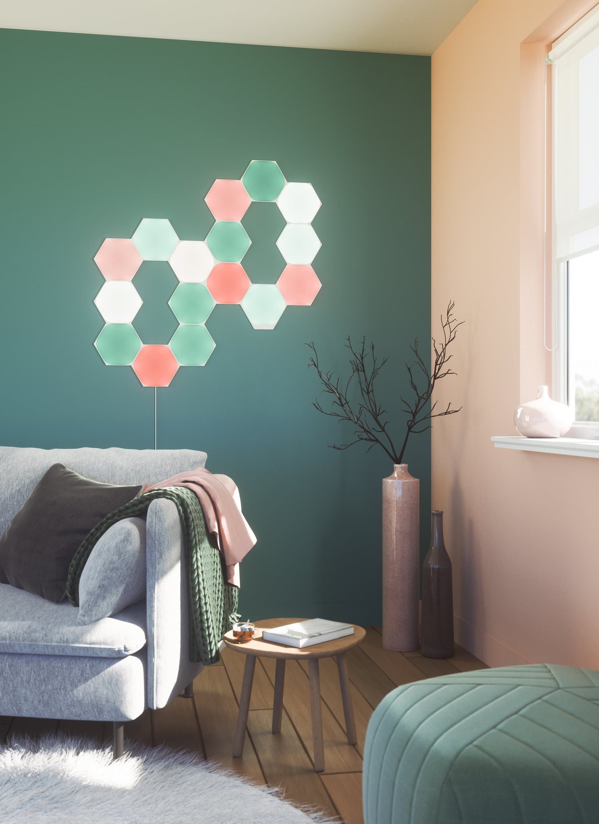 Nanoleaf Shapes Hexagons - District