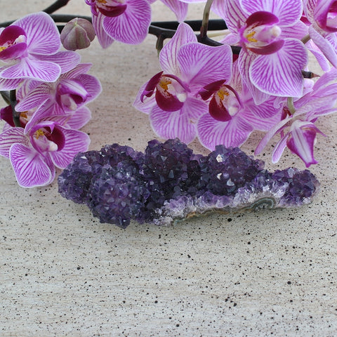 Amethyst Crystal Bud Cluster from Uruguay, 86.6 grams