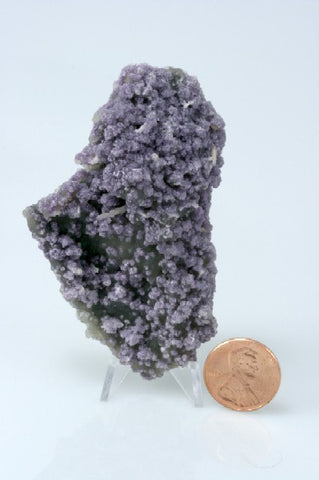 "Fluorite on Chalcedony Crystal 3.00"" x 1.87"" x 0.75"""