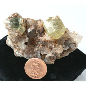 "Yellow Apatite Crystal 2.50"" x 2.00"" x 1.50"""