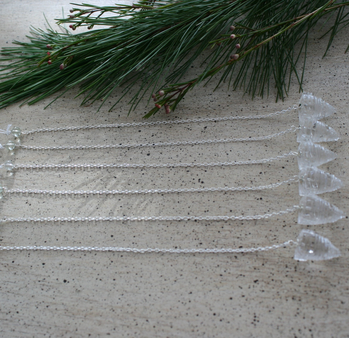 ONE Sri Yantra Pendulum, Clear Quartz for Intuition