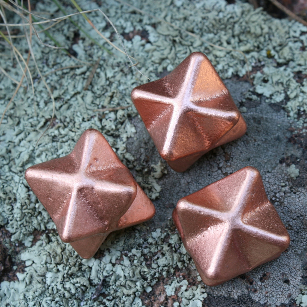 ONE Copper Merkabab from Michigan, approx.: 74 grams each