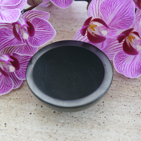 Shungite Bowl from Russia, 52.9 grams.