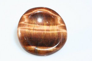 Red Tigers Eye Worry Stone (Comfort Stone)