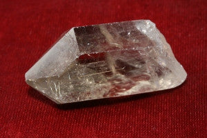 "Quartz with Rutile Crystal 2.00"" x 1.00"" x 1.00"""