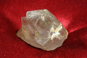 "Quartz with Rutile Crystal 1.62"" x 1.50"" x 0.75"""