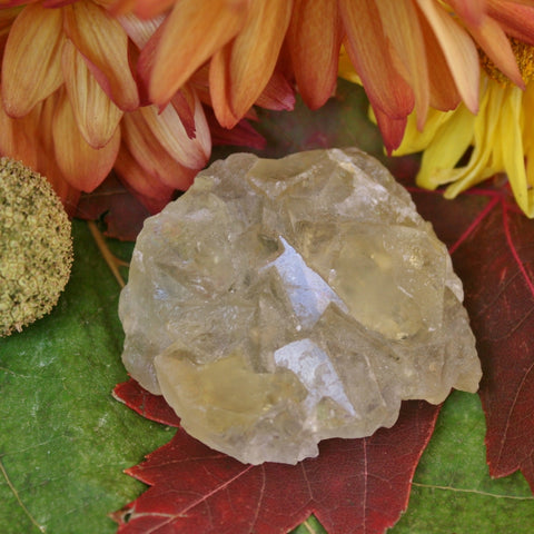 "Yellow Fluorite Crystal 2.00"" x 1.75"" x 0.50"""