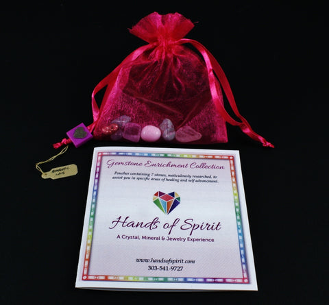 Romantic Love Pouch with Reference Pamphlet