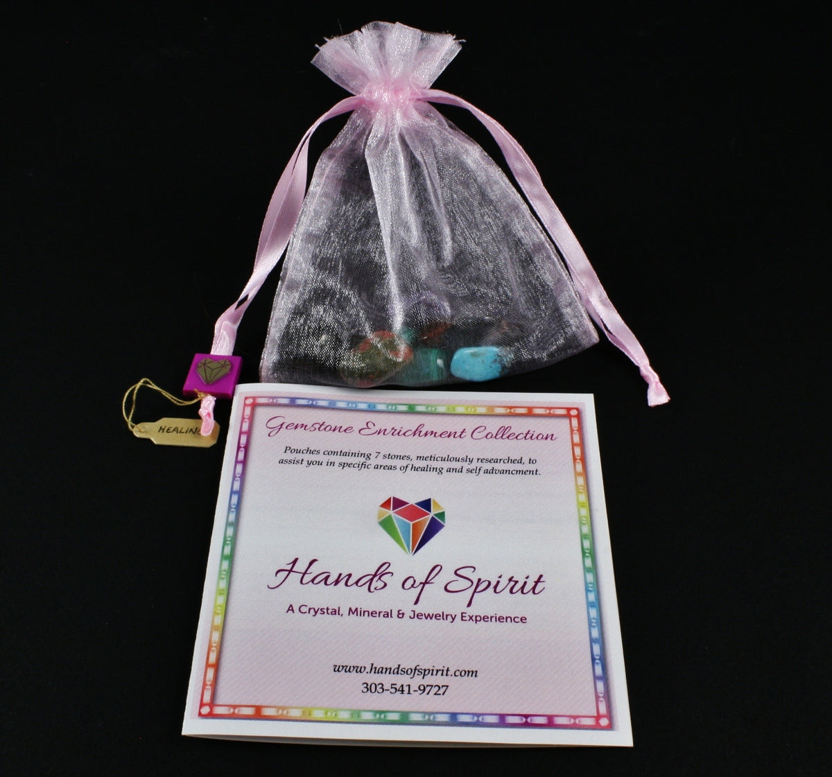 Healing Pouch with Reference Pamphlet