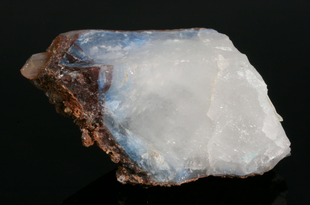Quartz with Papagoite Inclusions