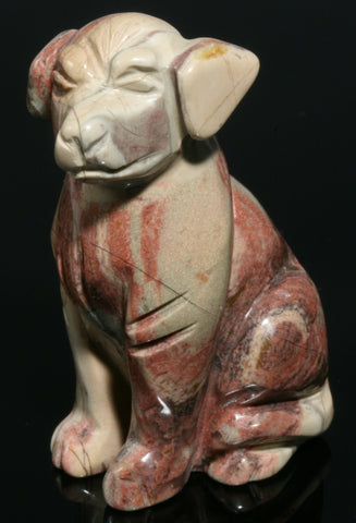 Jasper Dog Carving