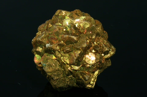 "Iridescent Pyrite Ball 1.12"" in diameter"