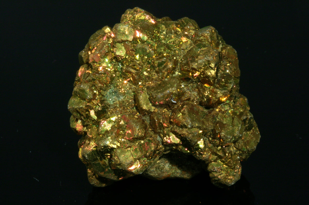 "Iridescent Pyrite Ball 1.37"" x 1.25"" x 1.25"""