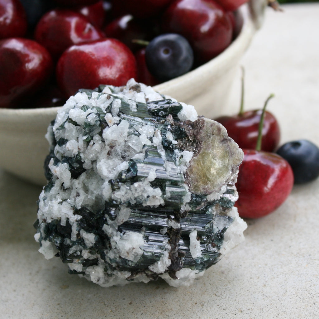 Tourmaline with Cleavelandite, Muscovite, from Brazil, 352 grams