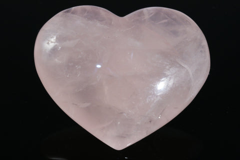 "Rose Quartz Heart 2.25"" x 1.87"" x 0.62"""