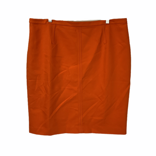 Primary Photo - BRAND: ANN TAYLOR STYLE: SKIRT COLOR: ORANGE SIZE: 18 SKU: 210-210145-4031