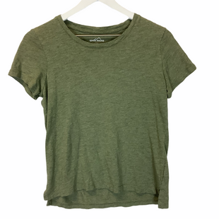 Primary Photo - BRAND: EDDIE BAUER STYLE: TOP SHORT SLEEVE COLOR: GREEN SIZE: S SKU: 210-21099-13730