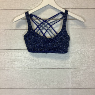 Primary Photo - BRAND: LULULEMON STYLE: BRA COLOR: BLUE SIZE: 4 SKU: 210-210162-99AS IS