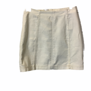 Primary Photo - BRAND: FREE PEOPLE STYLE: SKIRT COLOR: WHITE SIZE: 8 SKU: 210-210163-103