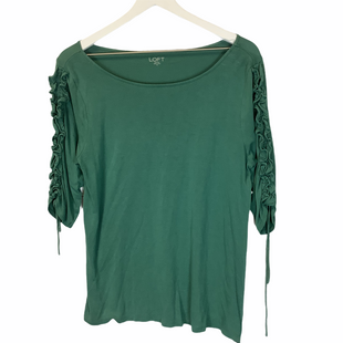 Primary Photo - BRAND: ANN TAYLOR LOFT STYLE: TOP SHORT SLEEVE COLOR: GREEN SIZE: M SKU: 210-210106-16011