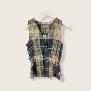 Primary Photo - BRAND: LOFT STYLE: TOP SLEEVELESS COLOR: PLAID SIZE: S SKU: 210-210106-28582