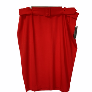 Primary Photo - BRAND:    CLOTHES MENTOR STYLE: SKIRT COLOR: RED SIZE: 3X OTHER INFO: NYCC - SKU: 210-210142-2826