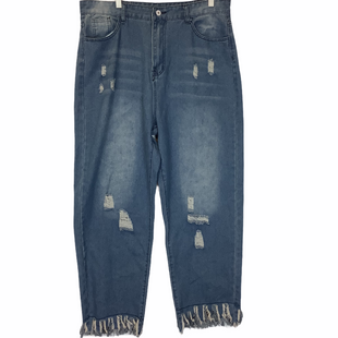 Primary Photo - BRAND:    CLOTHES MENTOR STYLE: JEANS COLOR: DENIM SIZE: XL OTHER INFO: MISSLOOK - SKU: 210-210159-160