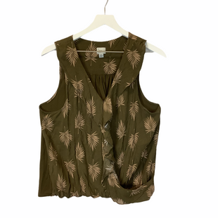 Primary Photo - BRAND: A NEW DAY STYLE: TOP SLEEVELESS COLOR: GREEN SIZE: XL SKU: 210-210106-21173