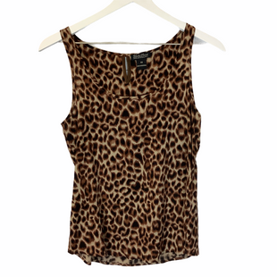 Primary Photo - BRAND: LUCKY BRAND STYLE: TOP SLEEVELESS COLOR: ANIMAL PRINT SIZE: XS SKU: 210-210106-23859