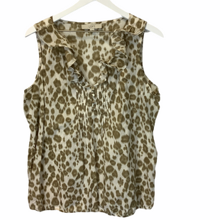 Primary Photo - BRAND: ANN TAYLOR LOFT STYLE: TOP SLEEVELESS COLOR: BROWN SIZE: L SKU: 210-21099-17092