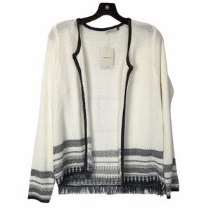 Primary Photo - BRAND:    CLOTHES MENTOR STYLE: SWEATER CARDIGAN LIGHTWEIGHT COLOR: CREAM SIZE: S SKU: 210-210106-25803