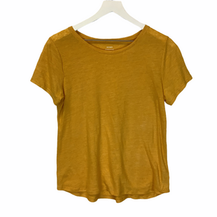 Primary Photo - BRAND: OLD NAVY STYLE: TOP SHORT SLEEVE COLOR: YELLOW SIZE: S SKU: 210-210143-712