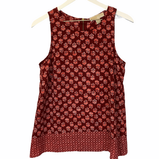 Primary Photo - BRAND: MICHAEL BY MICHAEL KORS STYLE: TOP SLEEVELESS COLOR: RED SIZE: S SKU: 210-210135-4834