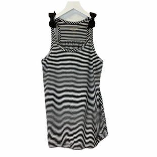 Top Sleeveless By Kate Spade  Size: S - BRAND: KATE SPADE STYLE: TOP SLEEVELESS COLOR: BLACK WHITE SIZE: S SKU: 210-210129-5836