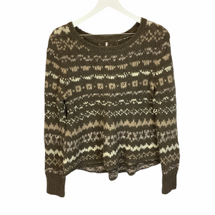 Primary Photo - BRAND: FREE PEOPLE STYLE: SWEATER LIGHTWEIGHT COLOR: BROWN SIZE: XS SKU: 210-210145-4573