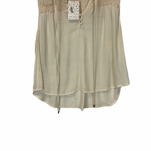 Primary Photo - BRAND: FREE PEOPLE STYLE: TOP SLEEVELESS COLOR: BEIGE SIZE: S SKU: 210-21099-16902