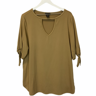 Primary Photo - BRAND:    CLOTHES MENTOR STYLE: TOP LONG SLEEVE COLOR: YELLOW SIZE: 2X SKU: 210-210143-1146