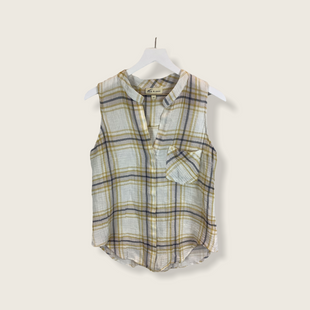 Primary Photo - BRAND: CLOTH AND STONE STYLE: TOP SLEEVELESS COLOR: PLAID SIZE: M SKU: 210-210106-29412