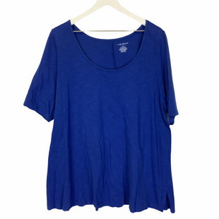 Primary Photo - BRAND: LANE BRYANT STYLE: TOP SHORT SLEEVE COLOR: BLUE SIZE: 2X SKU: 210-210143-652