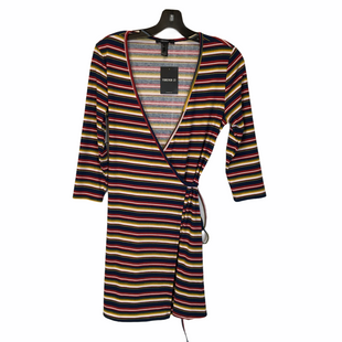 Primary Photo - BRAND: FOREVER 21 STYLE: DRESS SHORT LONG SLEEVE COLOR: MULTI SIZE: L SKU: 210-210129-4864
