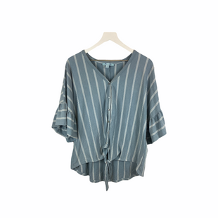 Primary Photo - BRAND: SHE + SKY STYLE: TOP SHORT SLEEVE COLOR: BLUE SIZE: L SKU: 210-210142-674